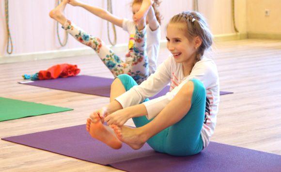 Новый класс — детская йога!